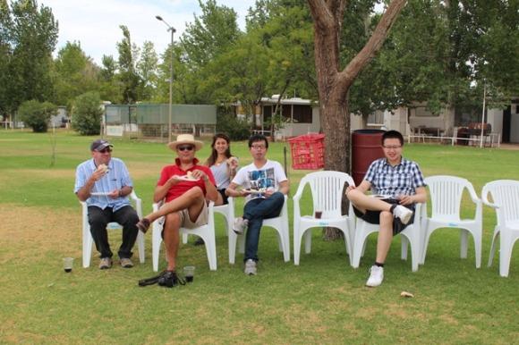 Sydney Uni Students experience Copi Hollow